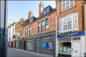 551 SF High Street Shop for Rent  |  45 - 47 Bridlesmith Gate, Nottingham, NG1 2GN