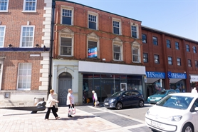 839 SF High Street Shop for Rent  |  4 Taff Street, Pontypridd, CF37 4UW