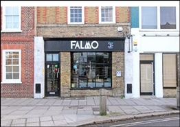 730 SF High Street Shop for Rent  |  14 High Street, Kingston Upon Thames, KT1 4DA