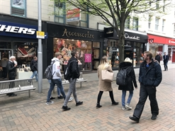 596 SF High Street Shop for Rent  |  10 Albert Street, Nottingham, NG1 7DA