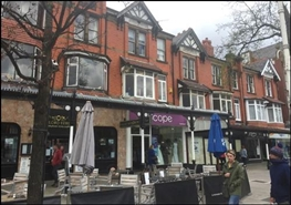 848 SF High Street Shop for Rent  |  523 Lord Street, Southport, PR9 0BB