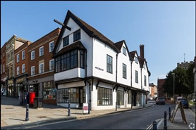 619 SF High Street Shop for Rent  |  46 High Street, Guildford, GU1 3ES