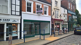 400 SF High Street Shop for Rent  |  66 High Street, Market Harborough, LE16 7AF