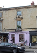 378 SF High Street Shop for Rent  |  10 Rotunda Terrace, Cheltenham, GL50 1SW
