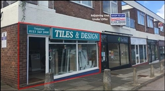659 SF High Street Shop for Rent  |  49 Telegraph Road, Wirral, CH60 0AD