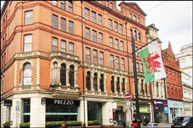 1,523 SF High Street Shop for Rent  |  Elgin House, Cardiff, CF10 1DX