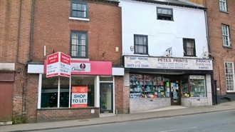 1,881 SF High Street Shop for Sale  |  25/26 Bridge Street, Stourport-on-Severn, DY13 8UR