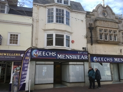 815 SF High Street Shop for Sale  |  103 St. Mary Street, Weymouth, DT4 8NY