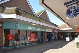 2,120 SF High Street Shop for Rent  |  12-13 Tudor Arcade, Dorchester, DT1 1BN
