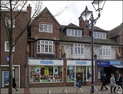 2,595 SF High Street Shop for Rent  |  Unit 1, 15 - 17 High Street, Solihull, B91 3SJ