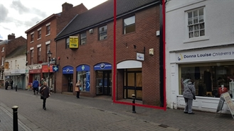 661 SF High Street Shop for Rent  |  22 High Street, Stoe, ST15 8AW