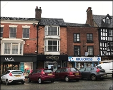 814 SF High Street Shop for Rent  |  38 High Street, Bridgnorth, WV16 4DB