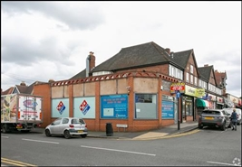 710 SF High Street Shop for Rent  |  419 Birmingham Road, Sutton Coldfield, B72 1AX