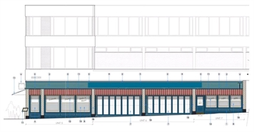 3,140 SF High Street Shop for Rent  |  Units 4/7, Woking One, Commercial Way, Woking, GU21 6EL