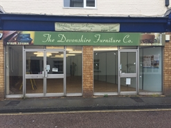 1,561 SF Out of Town Shop for Rent | The Devonshire Furniture Co., Newton Abbot, TQ12 2AN