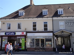 598 SF High Street Shop for Rent  |  9 High Street, Wimborne, BH21 1HR