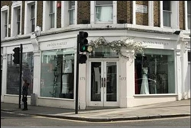 1,454 SF High Street Shop for Rent  |  175 - 177 Fulham Road, London, SW3 6JW