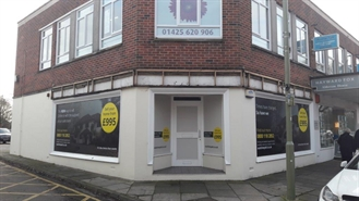 842 SF High Street Shop for Rent  |  15 Old Milton Road, New Milton, BH25 6PQ