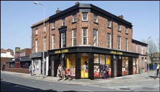 1,328 SF High Street Shop for Rent  |  The Queens Arms, Liverpool, L4 4BB