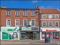 863 SF High Street Shop for Rent  |  10 Market, Retford, DN22 6DR