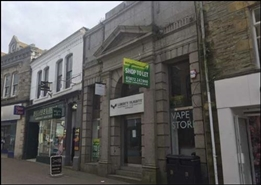 1,700 SF High Street Shop for Rent  |  8 Bank Street, Newquay, TR7 1JF