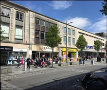 1,345 SF High Street Shop for Rent  |  88 New George Street, Plymouth, PL1 1RX