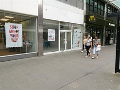 540 SF Shopping Centre Unit for Rent  |  21 Canal Walk, Brunel Shopping Centre, Swindon, SN1 1LD