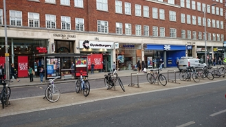 1,650 SF High Street Shop for Rent  |  184 Kensington High Street, London, W8 7RG