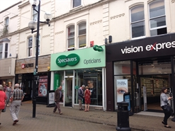 930 SF High Street Shop for Rent | 75 High Street, Weston-super-Mare, BS23 1HE