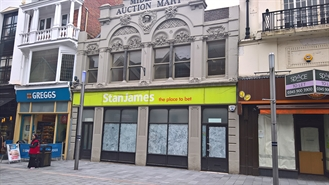 1,512 SF High Street Shop for Rent  |  16 Market Street, Leicester, LE1 6DP