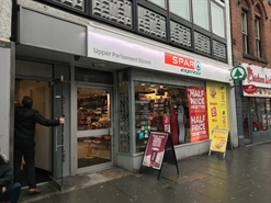 1,798 SF High Street Shop for Rent  |  Parliament House, Nottingham, NG1 2AG