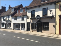 1,716 SF High Street Shop for Rent  |  10-11 St Pancras, Chichester, PO19 7SJ