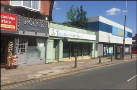 2,310 SF High Street Shop for Rent  |  171 - 173 Picton Road, Liverpool, L15 4LG
