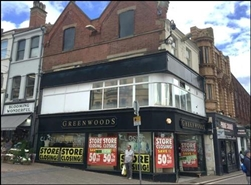 614 SF High Street Shop for Rent  |  30 Market Place, Mansfield, NG18 1JF