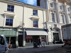 855 SF High Street Shop for Rent  |  82 Queen Street, Exeter, EX4 3RP