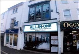 892 SF High Street Shop for Rent  |  14 Fore, Bodmin, PL31 2HQ