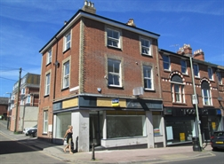558 SF High Street Shop for Rent  |  44 Rolle Street, Exmouth, EX8 2SH