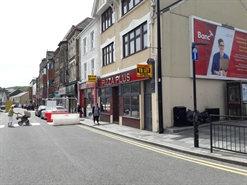 796 SF High Street Shop for Rent  |  37 Taff Street, Pontypridd, CF37 4TR