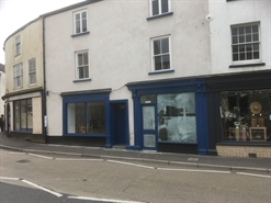 500 SF High Street Shop for Rent  |  3 Trinity Square, Axminster, EX13 5AN
