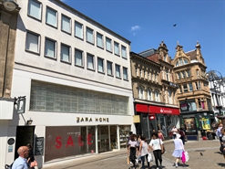 1,662 SF High Street Shop for Rent  |  56-57 Briggate, Leeds, LS1 6AS