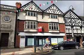 1,908 SF High Street Shop for Rent  |  3 - 4 Broad Street, Newtown, SY16 2LU