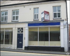 600 SF High Street Shop for Rent  |  32 Mill Street, Crewe, CW2 7AN