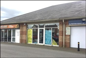 1,010 SF Out of Town Shop for Rent  |  170 Alfreton Road, Sutton In Ashfield, NG17 1JB