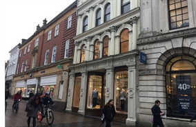 1,610 SF High Street Shop for Rent  |  32 London Street, Norwich, NR2 1LD