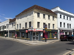 1,725 SF High Street Shop for Rent  |  1 Winchester Street, Salisbury, SP1 1HB