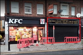 800 SF High Street Shop for Rent  |  58 Station Road, Hayes, UB3 4DF