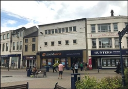 2,795 SF High Street Shop for Rent  |  38 - 40 Market Place, Dewsbury, WF13 1DW