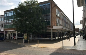 2,305 SF High Street Shop for Rent  |  1 - 3 Queens Square, Crawley, RH10 1DY