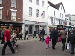 1,365 SF High Street Shop for Rent  |  14 High Street, Canterbury, CT1 2JE