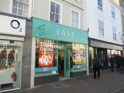604 SF High Street Shop for Rent  |  7 Buttermarket, Bury St Edmunds, IP33 1DB